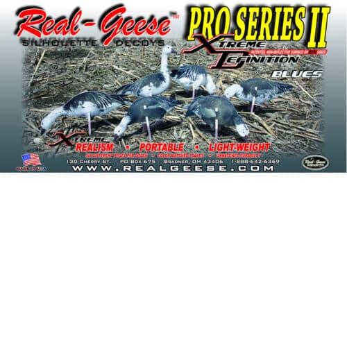 blue goose decoys