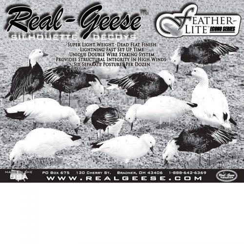 snow goose decoys