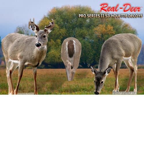 deer silhouette decoys